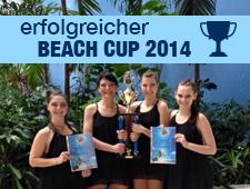 Tolle Ergebnisse beim Beach Cup 2014
