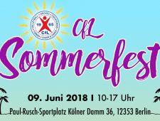 CfL Sommerfest 2018