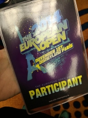 The European Open - Paris 2014